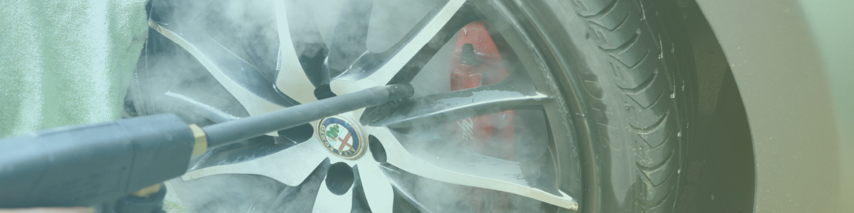 macchine di pulizia a vapore per autolavaggi e concessionari